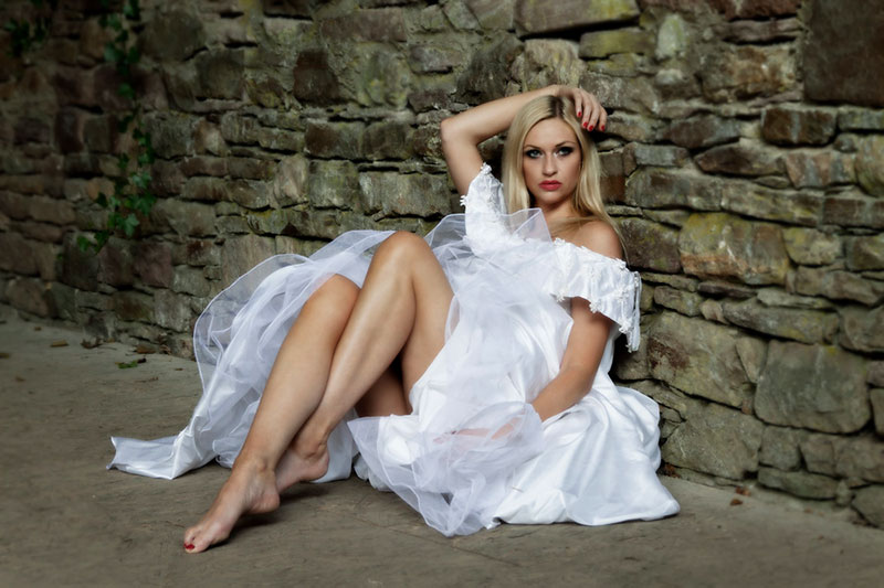 After Wedding - Trash-the-dress Shooting - Fotograf OWL - Kreis Lippe